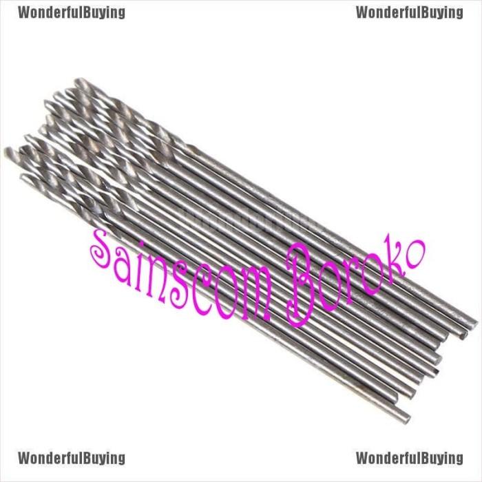 60pcs//set 0.5-1.0mm Micro HSS Steel Twist Drill Bit Set