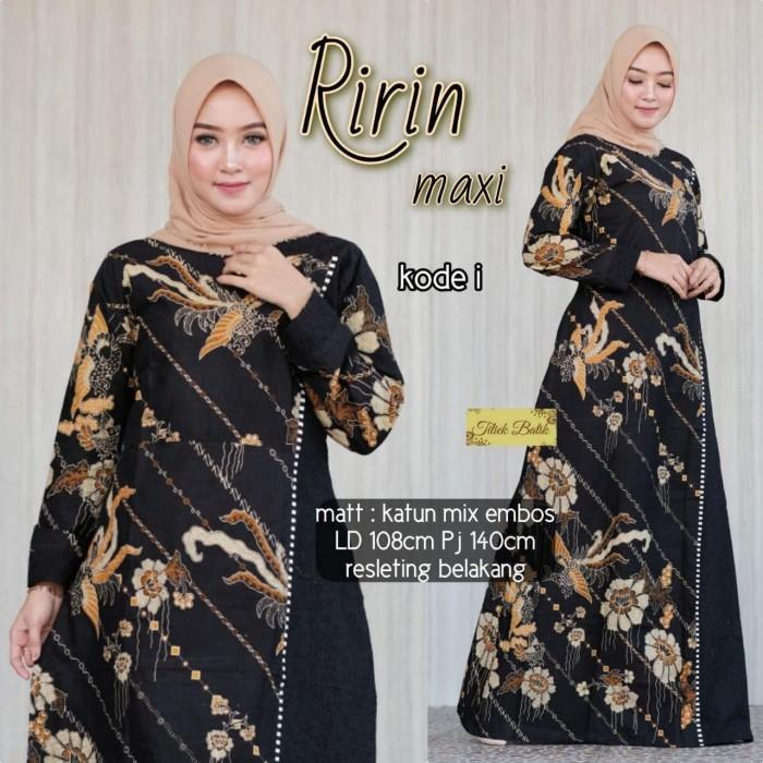Foto Produk Batik Solo Ririn Maxi Kode IY Titiek Bumi Batiksoloamanah 110.000 dari Batik Solo Amanah
