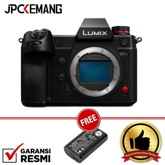 Foto Produk Panasonic Lumix DC-S1H / Panasonic S1H / Lumix S1H Body GARANSI RESMI dari JPCKemang