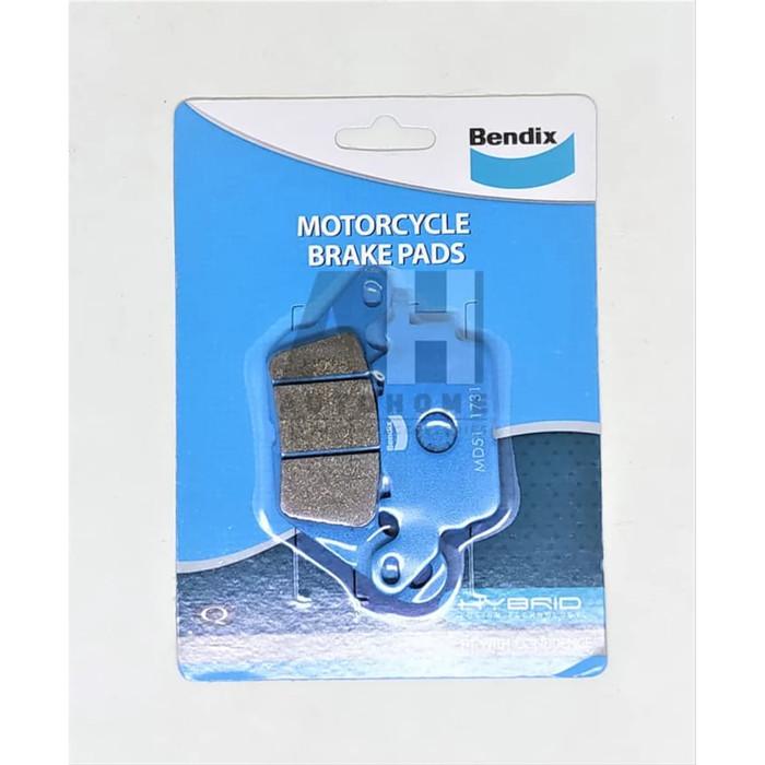 Foto Produk Kampas Rem Depan Yamaha Aerox 155 - BENDIX Brake Pad MD51 dari Auto Home