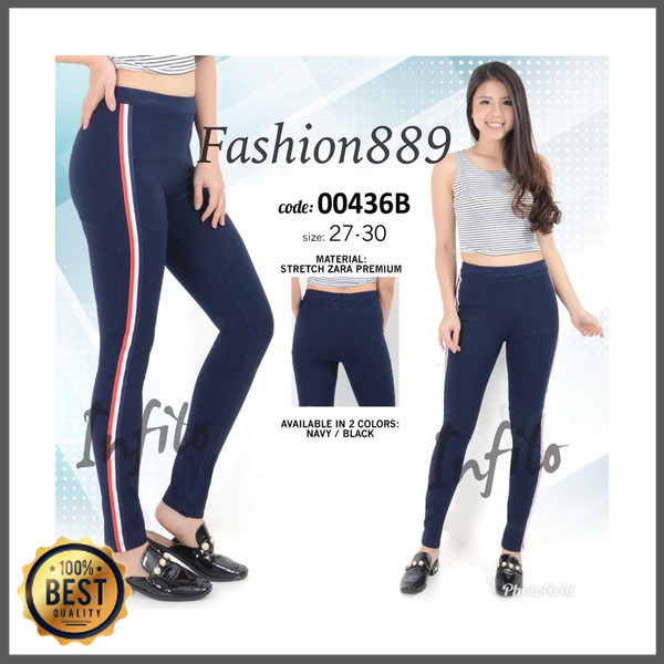 Jual Celana Legging Fashion Wanita Kaos Zara Premium High Quality 00436b Kota Banjarmasin Rianni Store Tokopedia