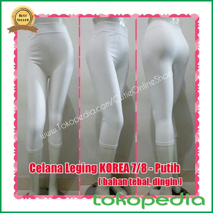 Jual Grosir Celana Leging Korea 7 8 Putih Bahan Tebal Dingin Limited Kota Samarinda Hafizzah Mart Tokopedia