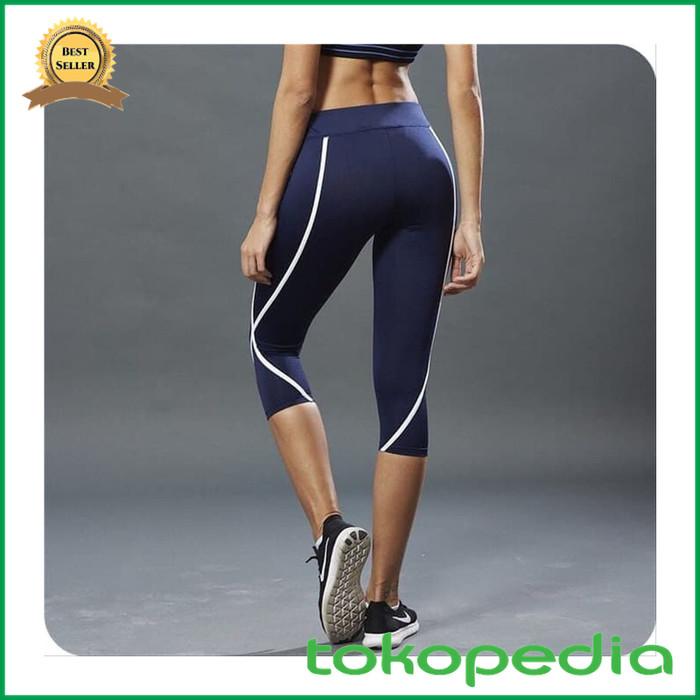 Jual Grosir Sport Legging Tmk16 Celana Leging Tanggung Strip Putih Kota Samarinda Hanfifa Store Tokopedia