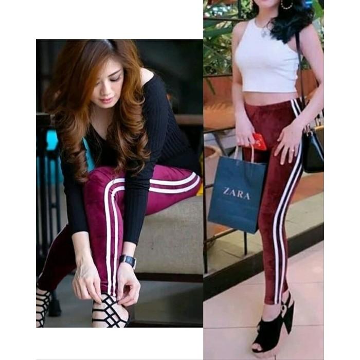 Jual Legging Tebal Celana Lejing Wanita Kekinian Celana Leging Murah Kota Samarinda Hanfifa Store Tokopedia