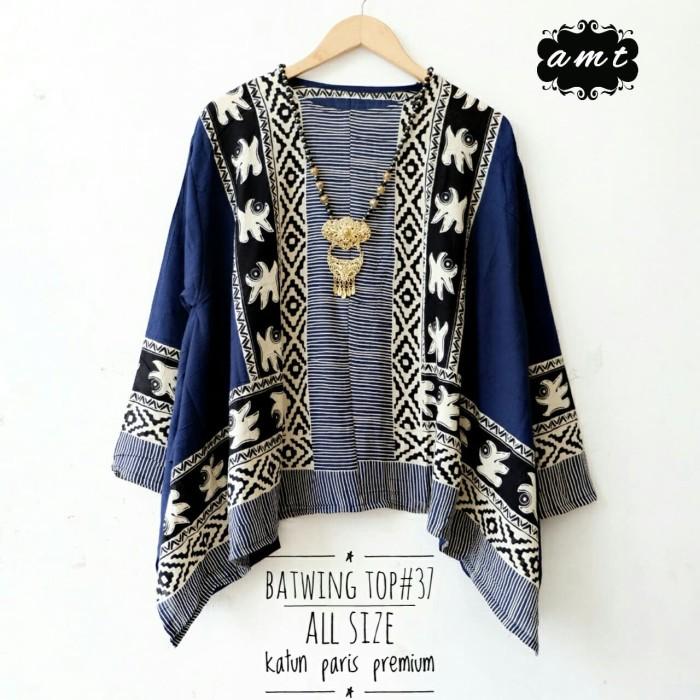 Foto Produk Kartini plus size top Batwing batik dari Batik Sri