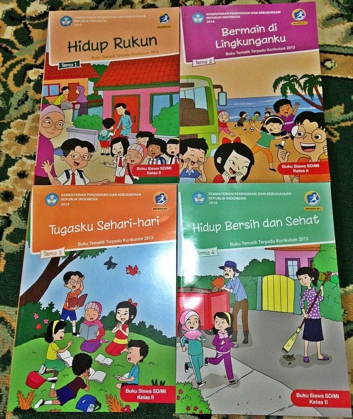 Buku Kelas 2 Tema 2 Guru Ilmu Sosial