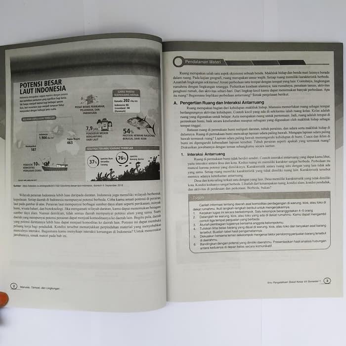 Jual Kumpulan Soal Smp Buku Lks Ips Smp Kelas 7 Semester 1 K13 Intan Jakarta Timur Aslijanhariyah Tokopedia