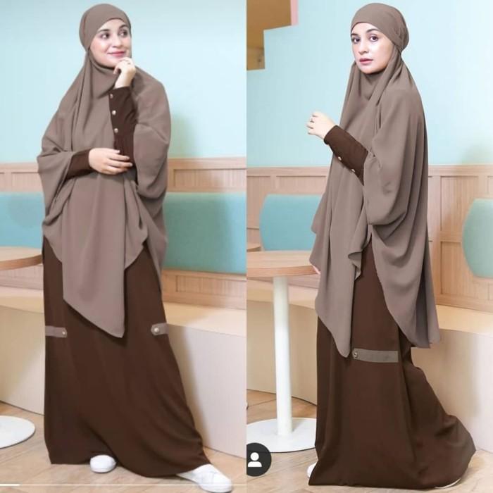Foto Produk Gamis Shiren Sungkar - Baju Muslim Shiren Sungkar - Amirah Syari dari ZODIYAR SHOP