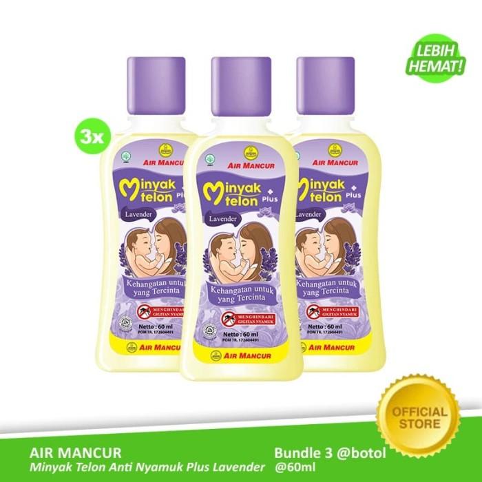 Foto Produk Air Mancur Minyak Telon Plus Lavender Botol 60 ml (3 Botol) dari Air Mancur Official Shop