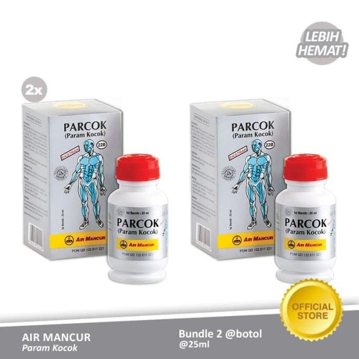 Foto Produk Air Mancur Param Kocok Botol 25 ml (2 Botol) dari Air Mancur Official Shop