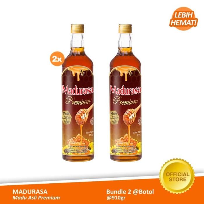 Foto Produk Madurasa Madu Asli Premium Botol 910 gr (2 Botol) dari Air Mancur Official Shop