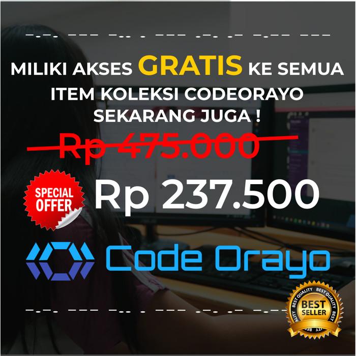 Foto Produk Kumpulan Aplikasi dan Template - Developer Forum Premium Membership dari Code Orayo