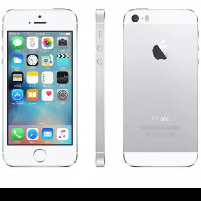 Foto Produk Iphone 5s 16gb second only Apple - Hitam dari N.C - Store