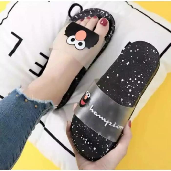 Foto Produk Sendal Flip Flop MOA ( Hitam ) - Hitam, 37 dari Reiv_Shop