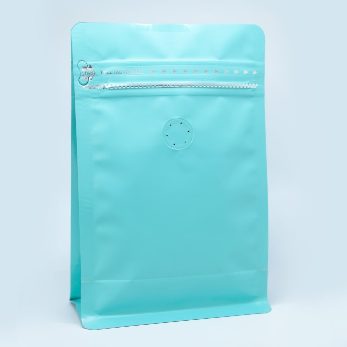 Foto Produk Coffee Bag 250gr Standing Pouch With Zipper + Valve Tosca (20 pcs) dari KOPITIAM OFFICIAL STORE