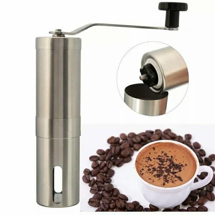 Foto Produk Alat Penggiling Kopi   Manual Coffee Grinder   Hand Coffee Grinder dari Stofer Shop