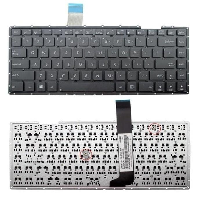 Jual Keyboard Asus X401u X401a X401 Series Hitam Jakarta Timur Cyber Komputer Tokopedia