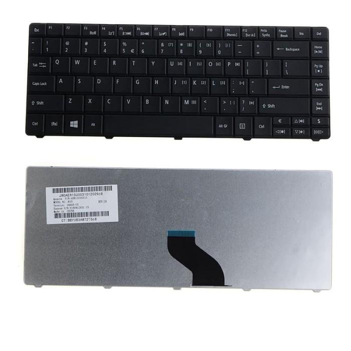 Foto Produk Keyboard Acer Aspire E1-421 E1-431 E1-431G E1-451 E1-471 E1-471G Hitam dari CYBER KOMPUTER