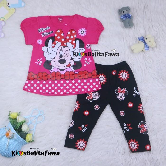 Foto Produk Setelan Mickey Mouse uk 2-3 Tahun / Baju Anak Karakter Perempuan dari Kios Balita Fawa