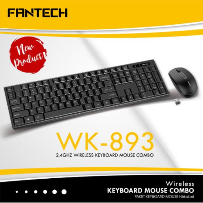Foto Produk Fantech WK-893 Wireless Keyboard Mouse Combo dari JEQA Komputer