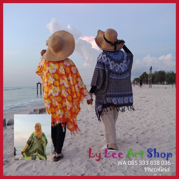 Foto Produk Outer Cardigan Pantai dari rangrang lombok art shop