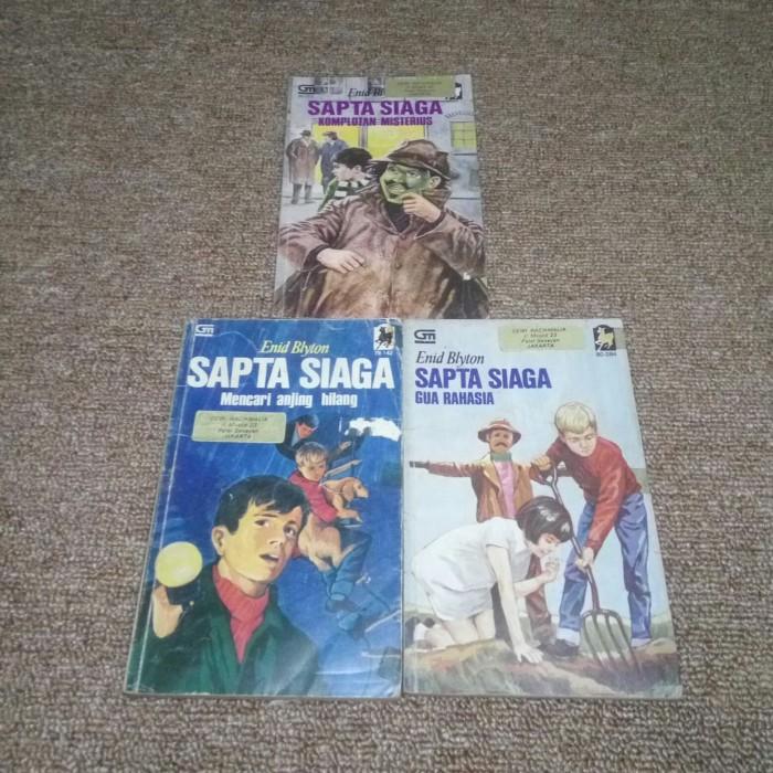 Foto Produk Novel Sapta Siaga - 3 Buku Cabutan dari matsany.shop