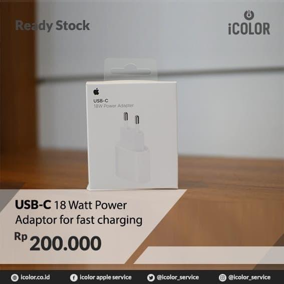Foto Produk Adaptor USB C lightning Fast Charging Iphone 11 11 Pro Ma dari iCOLOR Service
