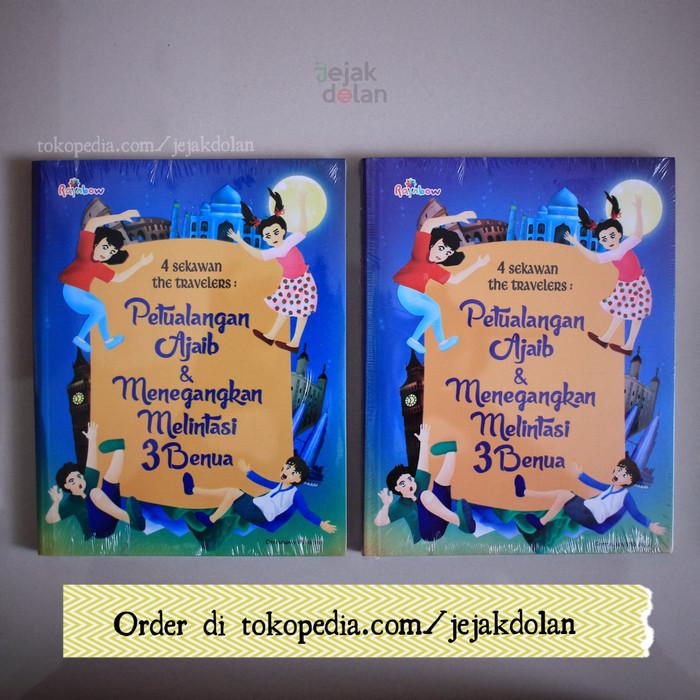 Foto Produk 4 Sekawan The Travelers - Buku Anak (Petualangan) - Baru & Original dari Jejak Dolan