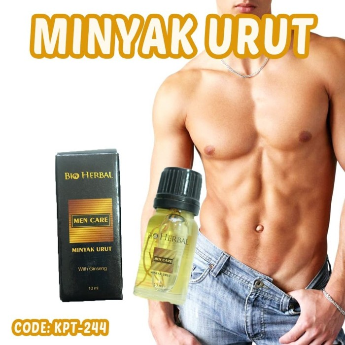 Foto Produk Bio Herbal Men Care/ Bio Herbal Minyak Urut BPOM Original dari GudKos