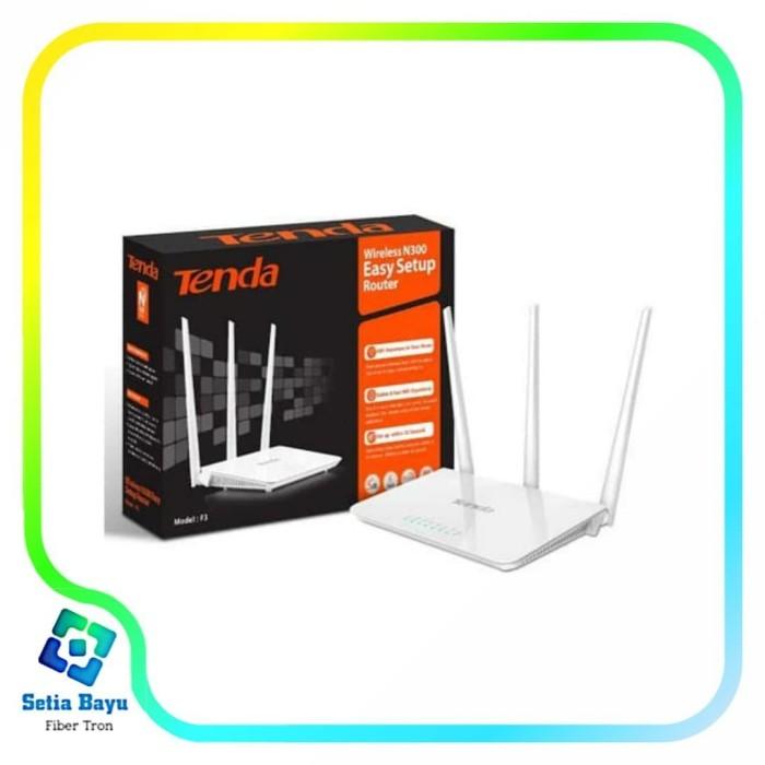 Foto Produk Tenda F3 Wireless Router+Extender+Access Point WIFI REPEATER NEW FH303 dari fiber tron