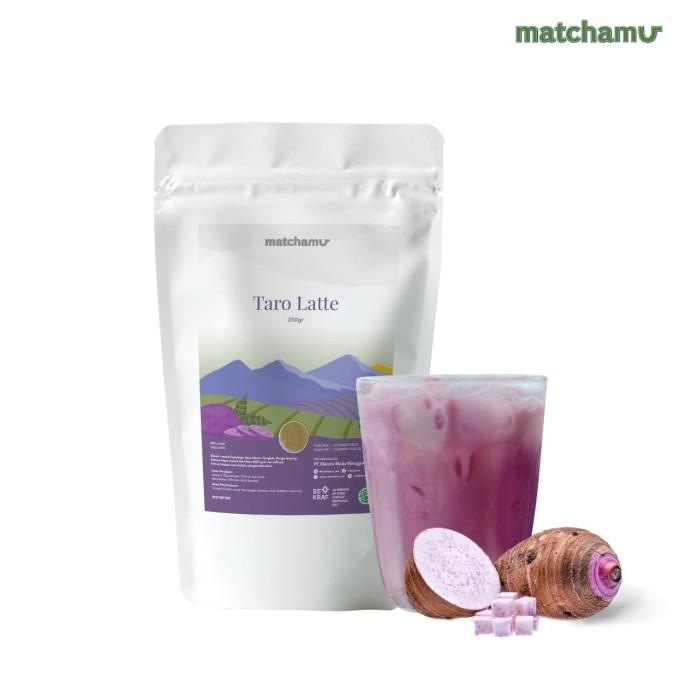 Foto Produk Taro Latte 500gr dari matchamu