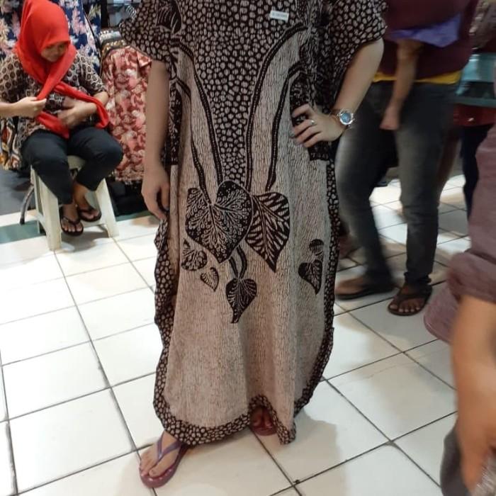 Foto Produk daster kelelawar santung print halus dari Batik mbak siti