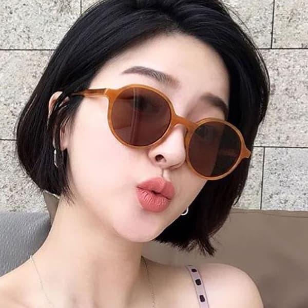 Foto Produk kacamata fashion round retro sunglasses jgl122 dari Oila