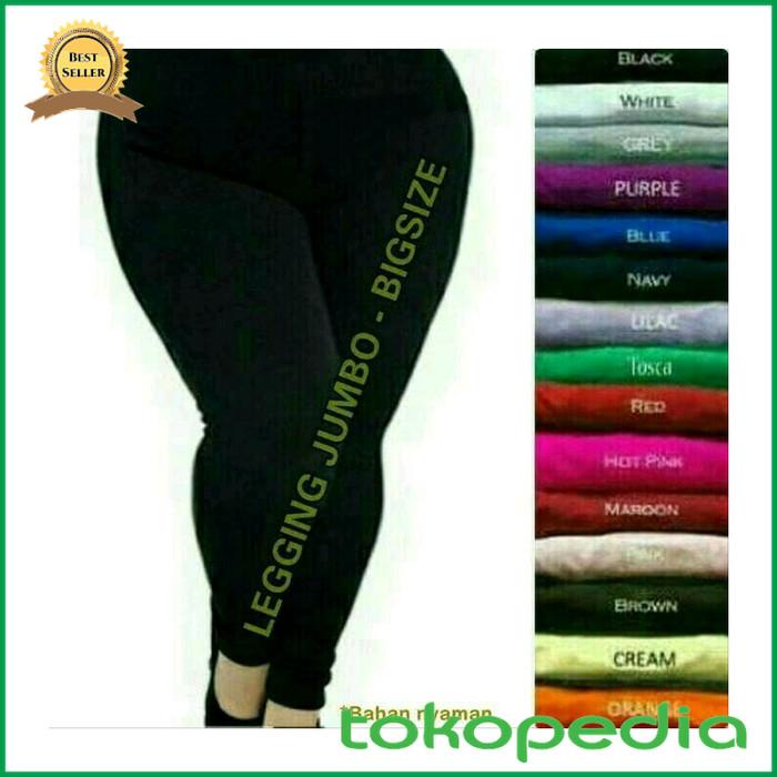 Jual Celana Legging Jumbo Bahan Spandex Ukuran Xxl Kota Samarinda Syarifah Mart Tokopedia