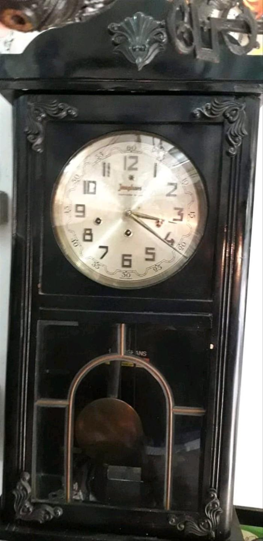 Jual Jam Antik Junghars Lobang 3 Jumbo Germany Clock Jam Unik Lawas Jakarta Utara BikinKotak