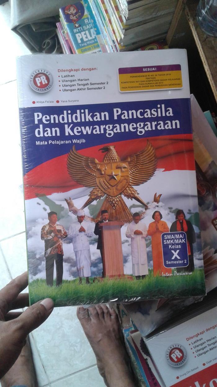 Jual Buku SMA Kelas 1 Buku Lks Pr Pkn Kls 10 Smt 2 Intanpariwara Jakarta Barat TasdikWibisono