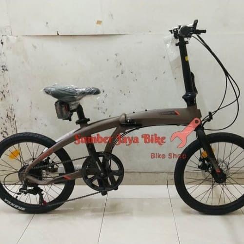 Jual Sepeda Lipat 20 inch Pacific Noris 1.0 7speed Kota