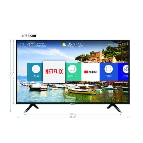 Foto Produk LED SMART TV HISENSE 40 INCH 40E5600EX - GARANSI 4 THN dari PhoneLabsJKT