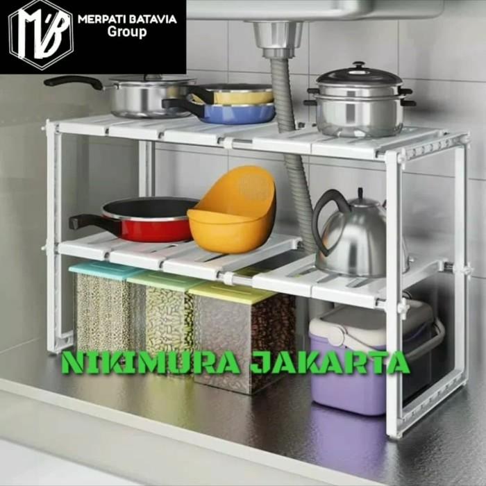 Jual Kitchen Rack Portable Stainless Rak Dapur Untuk Panci 2 Susun Kota Tangerang Selatan Nikimura Jakarta Tokopedia