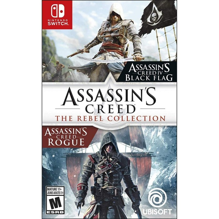 Jual Switch Assassin S Creed The Rebel Collection Asia English