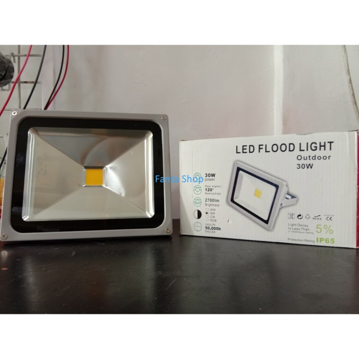 Jual Lampu Sorot Led Flood Light Led 30 Watt Kuning Kota Tanjung Pinang Fld Shop Tokopedia