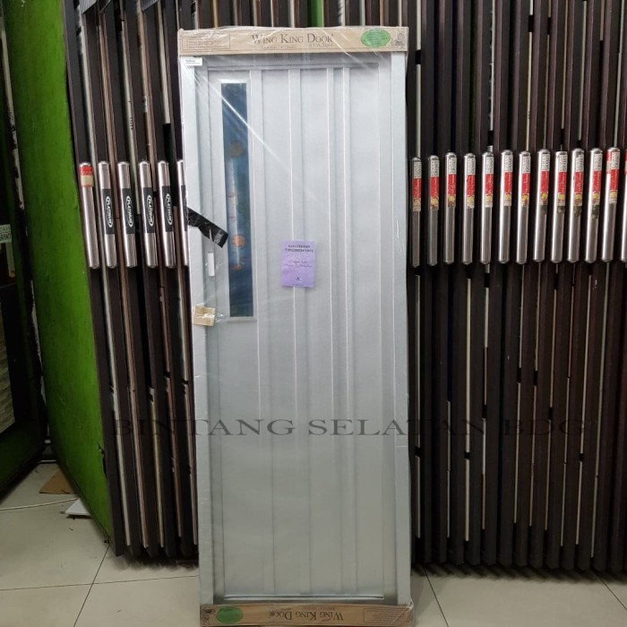 Jual PINTU KAMAR MANDI WADJA DOOR GALVALUME BAJA RINGAN V3 WING KING - Kota Bandung - Bintang Selatan 347bdg | Tokopedia