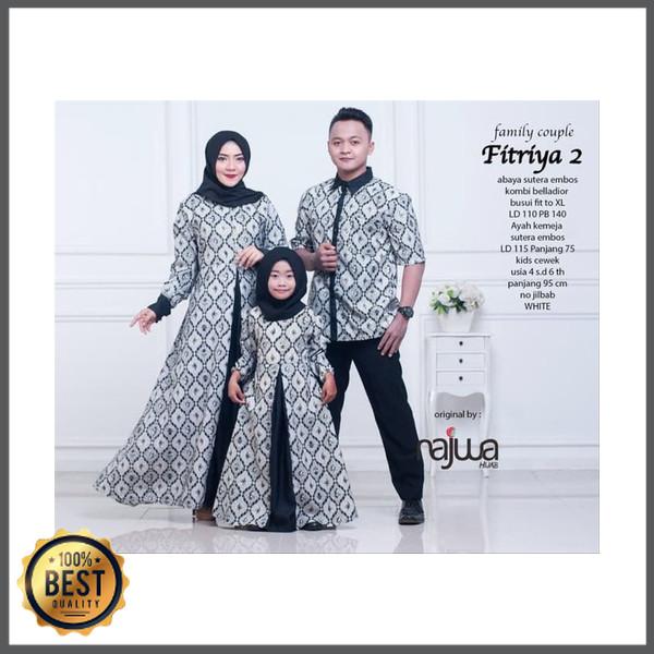 Jual Pakaian Wanita Muslim Baju Couple Keluarga Sarimbit Batik Fitriya Ori Kota Palangkaraya Nabbilah Store Tokopedia