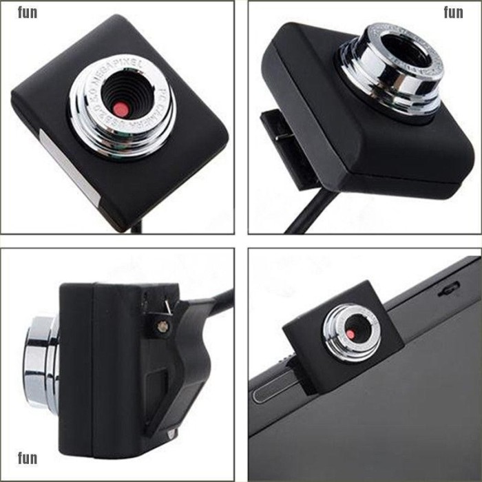 Foto Produk Mini Usb 2.0 Pc Camera Hd Webcam Camera Web Cam For Laptop Desktops dari AL3XA AMAZON