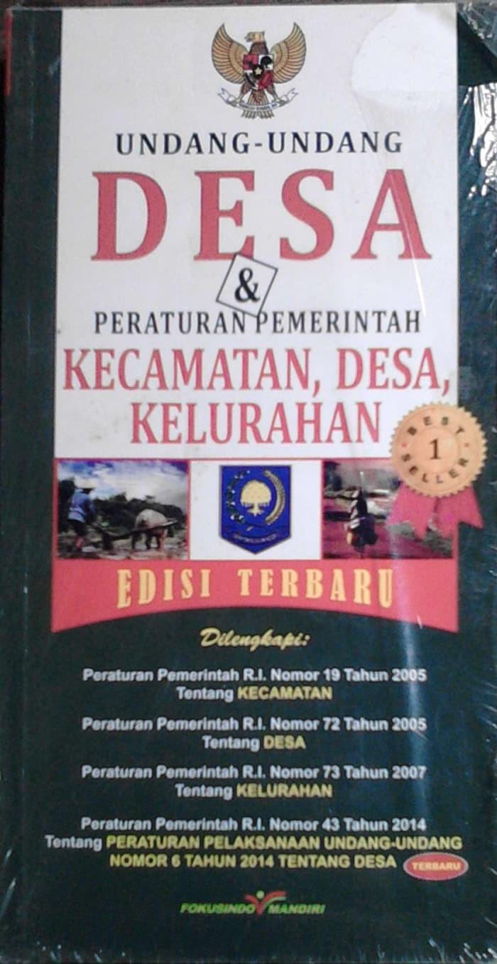 Jual Kumpulan Peraturan Perundang Undangan UNDANG UNDANG DESA & PERATURAN Jakarta Barat KamalPrastuti