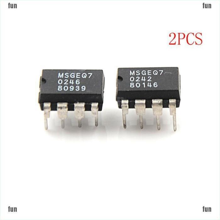 MSGEQ7 Band Graphic Equalizer IC MIXED DIP-8 MSGEQ7 New