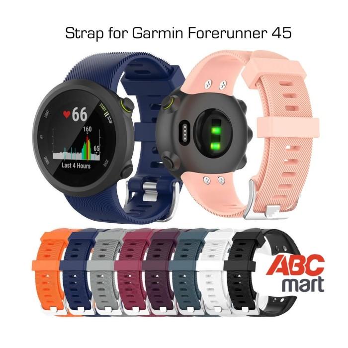 Foto Produk Strap band GARMIN FORERUNNER FR 45 watch- Tali jam sport dari ABCmart