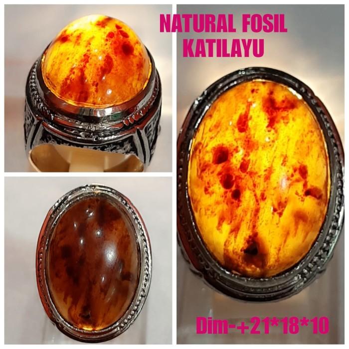 Foto Produk NATURAL BATU GETAH KATILAYU JAMINAN ASLI NATURAL A2 dari arjuna cincin