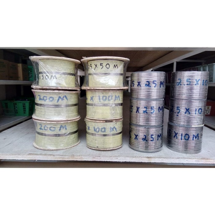 Foto Produk Niklin Kembang 2,5 mm / Niklin Motif / Patterned wire dari tokosealer