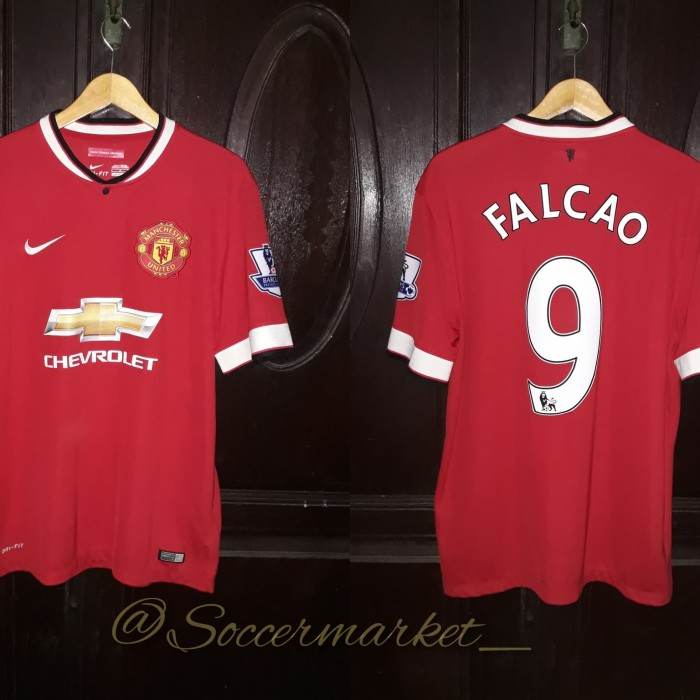 Jual Jersey Manchester United Home 2014 15 Original Kab Malang Jersey Ciamikk Tokopedia